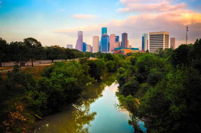 Texas Suburb Houston